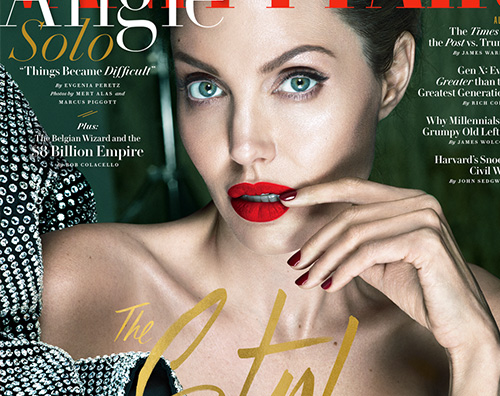Angelina Jolie Angelina Jolie parla del divorzio da Brad Pitt su Banity Fair