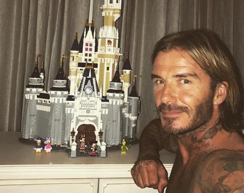 David Beckham 3 David Beckham, una sorpresa per Harper