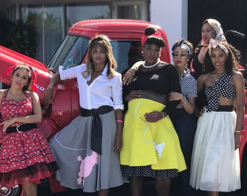 Serena Williams 1 Baby Shower anni '50 per Serena Williams