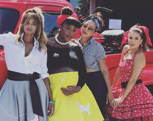 Serena Williams 2 Baby Shower anni '50 per Serena Williams
