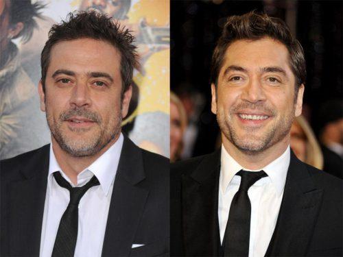 optische zwillinge jeffrey dean morgan javier bardem 500x375 5 Coppie d' attori che si somigliano tantissimo