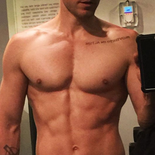 Jared Leto Jared Leto, muscoli in mostra su Instagram