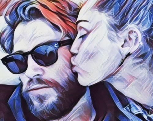 Liam Miley Miley e Liam romantici su Instagram