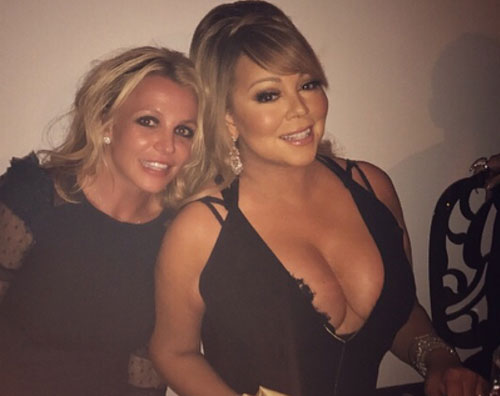 Mariah Britney Britney Spears e Mariah Carey si incontrano a cena