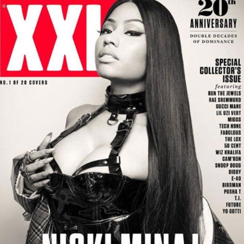 Nicki 2 Nicki Minaj è fetish sulla cover di XXL