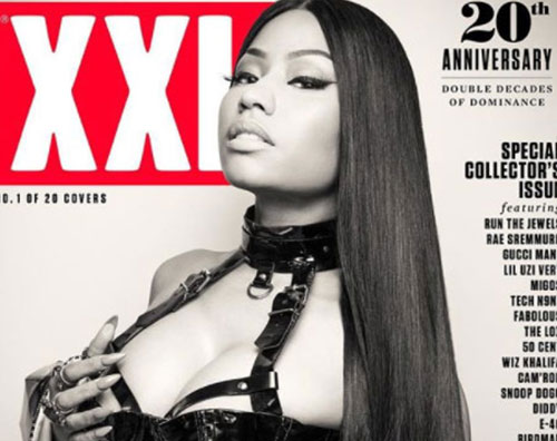 Nicki Nicki Minaj è fetish sulla cover di XXL