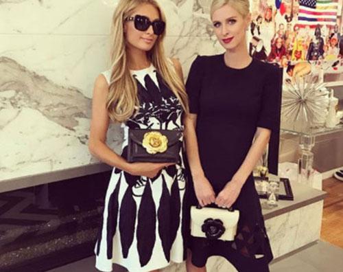 Paris e Nicky Paris e Nicky Hilton si godono la fashion week