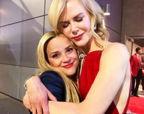 Reese Witherspoon Nicole Kimdan Reese Witherspoon piange di gioia dopo gli Emmy