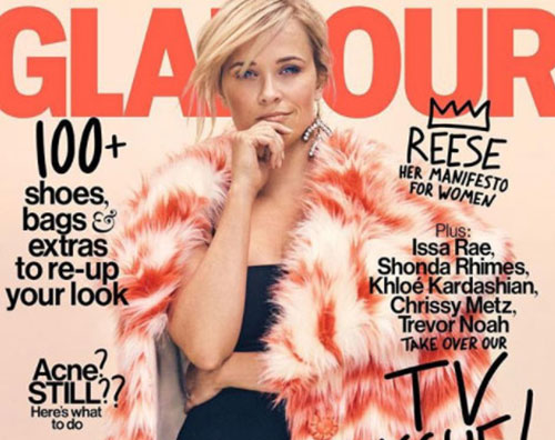 Reese Reese Witherspoon anticipa l'autunno sulla cover di Glamour