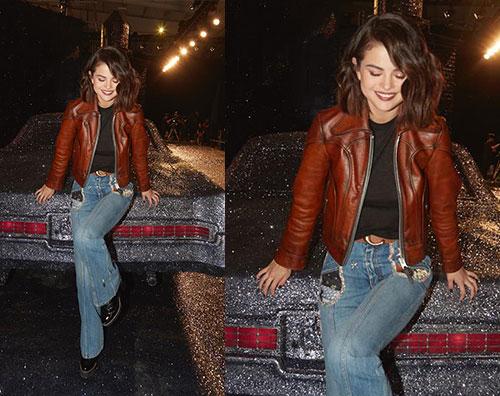 Selena Gomez 1 Selena Gomez, stilosa alla sfilata Coach