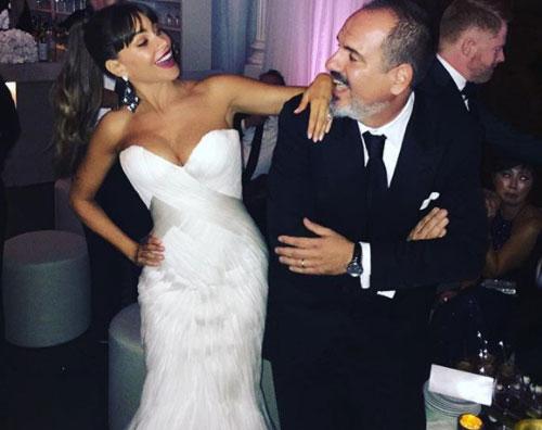 Sofia Vergara Sofia Vergara, una sposa sul red carpet degli Emmy
