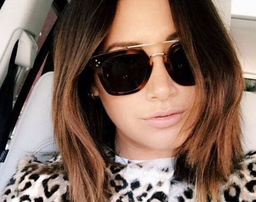 Ashley Tisdale Ashley Tisdale una rinfrescata al look per l'autunno