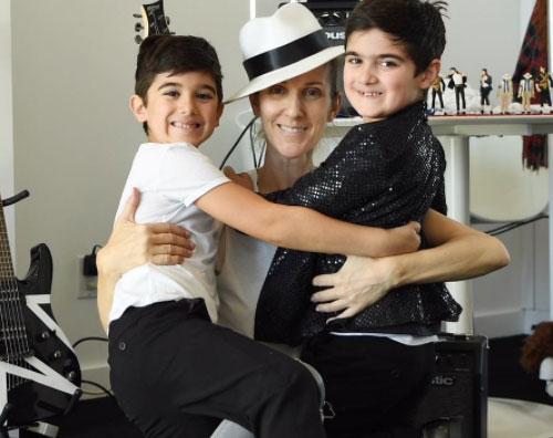 Celine Dion Celine Dion, i gemelli hanno già 7 anni