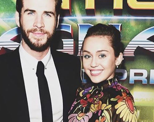 Miley Cyrus Miley e Liam, primo red carpet di coppia dopo quattro anni