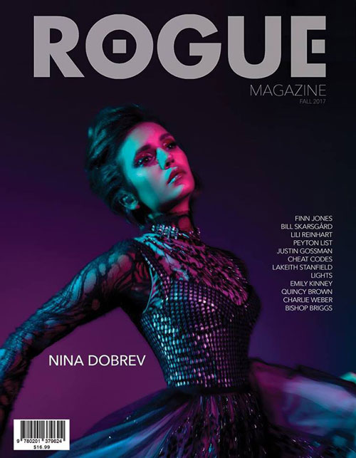 Nina Dobrev 2 Nina Dobrev è la cover girl di Rogue Magazine