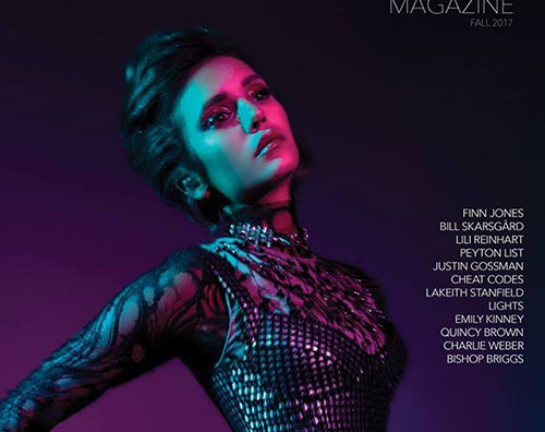 Nina Dobrev Nina Dobrev è la cover girl di Rogue Magazine