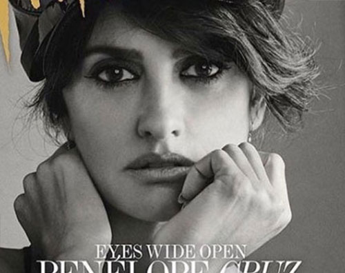 Penelope Cruz 1 Penelope Cruz sulla cover di Interview Magazine