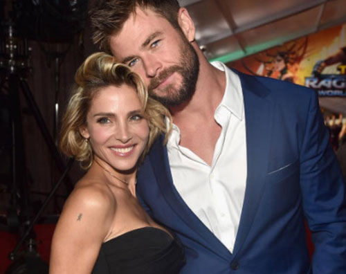 Chris Hemsworth Elsa Pataky Chris Hemsworth ed Elsa Pataky, innamorati su Instagram