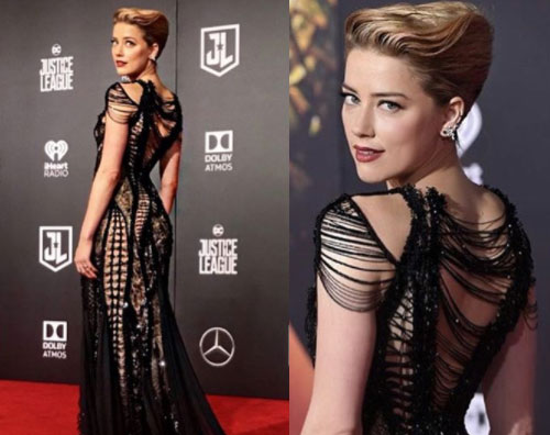 Amber Heard Amber Heard presenta Justice League a Los Angeles