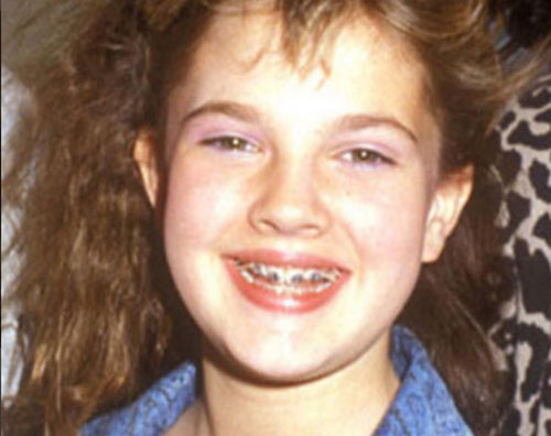 Drew Barrymore Ecco com'era Drew Barrymore a 12 anni