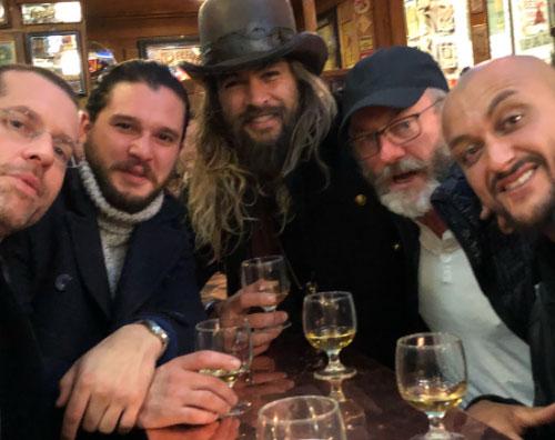 """Jason Momoa1 Reunion per Jason Momoa ed il cast di """"Il trono di spade"""""""