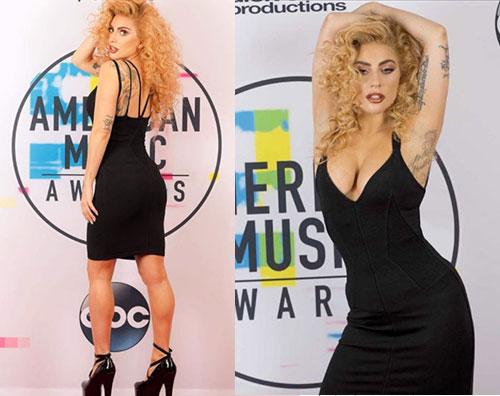Lady Gaga 2 Lady Gaga, nuovo look agli AMAs 2017