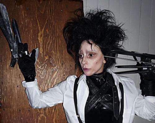 Lady Gaga Lady Gaga è Edward Mani di Forbice