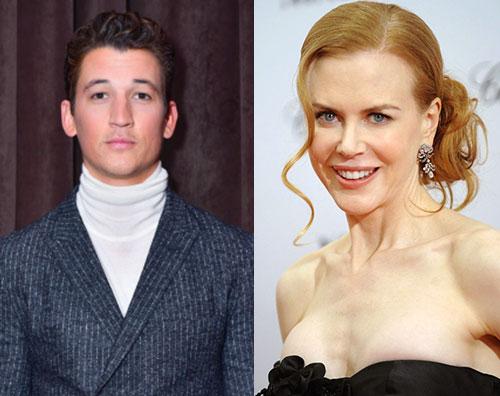 "Nicole Kidman 1 Miles Teller ""Orribile lavorare con Nicole Kidman"""