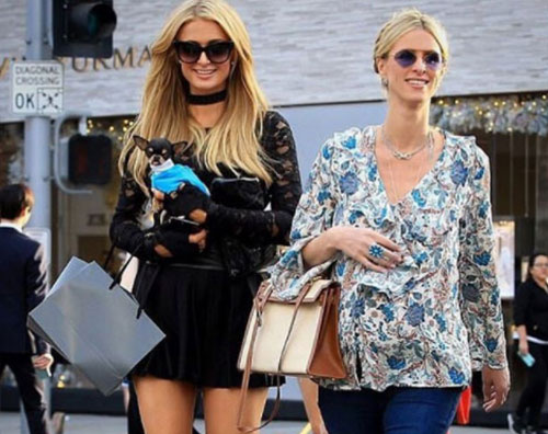 Paris Hilton Paris e Nicky Hilton fanno shopping a Rodeo Drive