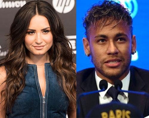 demi lovato neymar Demi Lovato e Neymar, cenetta a due a Londra