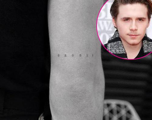 Brooklyn 1 Brooklyn Beckham, nuovo tattoo dedicato ai suoi fratelli