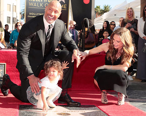 Dwayne Johnson 1 Dwayne Johnson ha la sua stella sulla Walk Of Fame