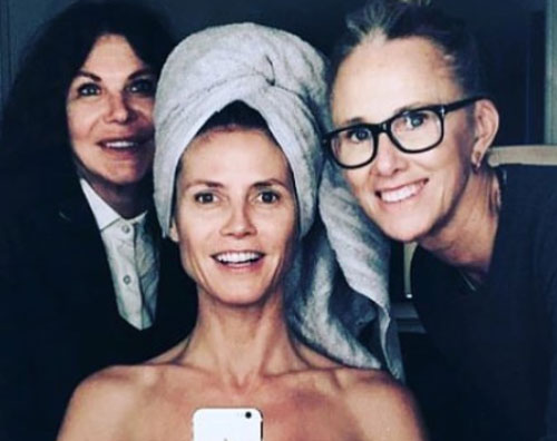 Heidi Klum Heidi Klum si prepara per Germany Nest Top Model