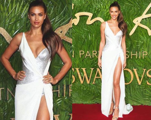 Irina Shayk Irina Shayk è sexy per i British Fashion Awards