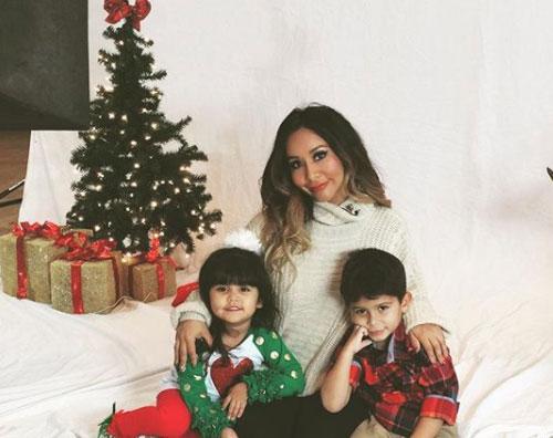 Snooki Snooki e i suoi bambini pronti per il Natale