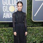 Alicia Vikander 150x150 Golden Globes 2018: il red carpet