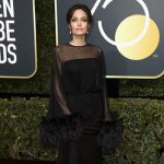Angelina Jolie 150x150 Golden Globes 2018: il red carpet