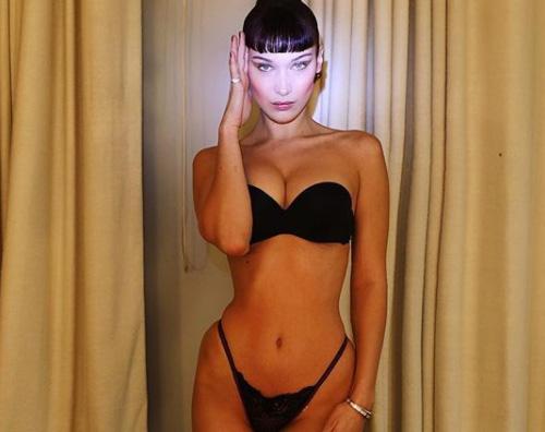 Bella Hadid Bella Hadid mostra le curve