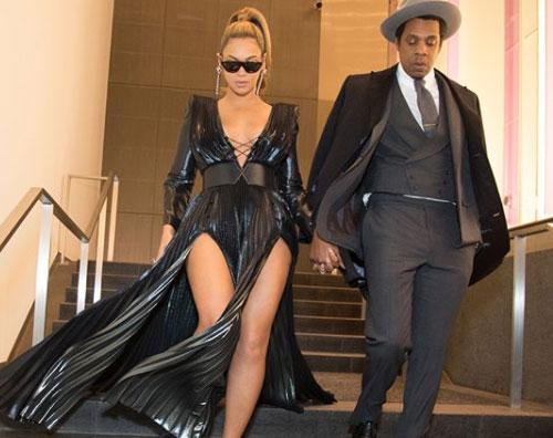 Beyonce Jay Z 1 Beyoce e Jay Z elegantissimi per il brunch pre Grammy