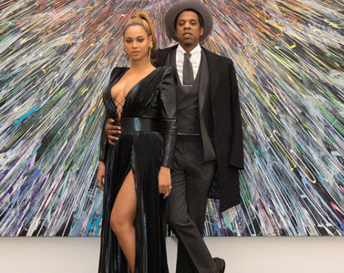 Beyonce Jay Z 2 Beyoce e Jay Z elegantissimi per il brunch pre Grammy