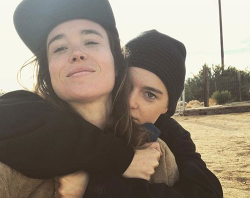 Ellen Page Ellen Page è una donna sposata