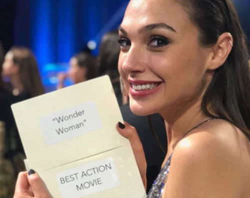 Gal Gadot Critics Choice Awards 2018: la lista dei vincitori