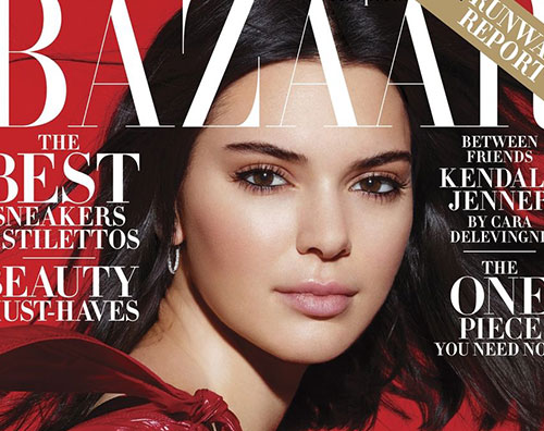 Kendall Jenner Cover Kendall Jenner conquista la cover di Harper's Bazaar