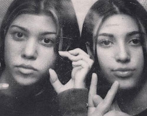 Kim Kardashian 2 Kim e Kourtney Kardashian, ecco com'erano negli anni '90