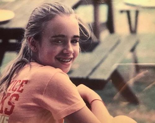 Lily Collins Ecco com'era Lily Collins da bambina