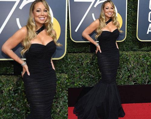 Mariah Carey 1 Mariah Carey, straripante ai Golden Globes 2018