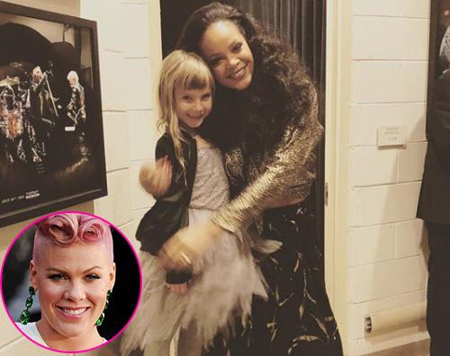 Pink 1 La figlia di Pink è una fan di Rihanna
