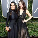 Salma Hayek Ashley Judd 150x150 Golden Globes 2018: il red carpet