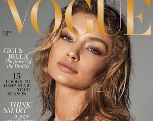 Gigi e Bella Hadid 2 Gigi e Bella Hadid si spogliano per Vogue