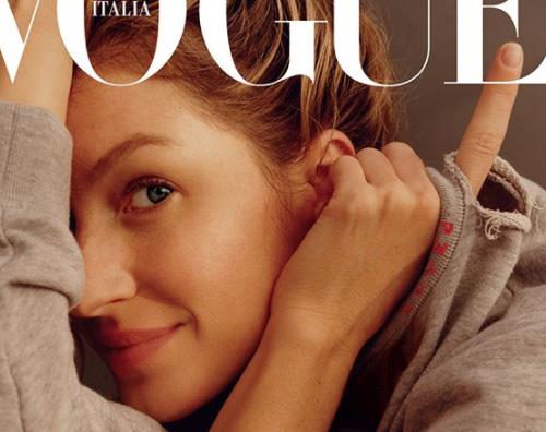 Gisele 2 Gisele Bundchen è la star del mese su Vogue Italia